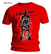 Official T Shirt A Nightmare On Elm Street Come Out & PLAY Freddy All Sizes