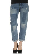 Levis boyfriend jeans DONNE 501 CT per donne 17804-0065 STACKED PATCH