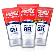 Brylcreem Original Men's Grooming Hair Styling Gels 150ml Wet, Strong & Extreme