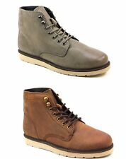 MENS OFFICE CEDAR NUBUCK LEATHER LACE UP SMART CASUAL ANKLE BOOTS SIZES 6 - 11