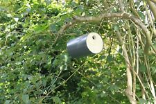 Pvc +Recycled Wood Hanging Bird Box Nest Boxes Nesting House Small Garden Birds