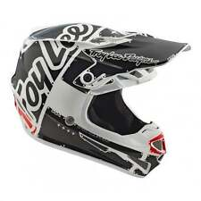 Troy Lee 2018 adulti SE4 Mips ORIGINALE Motocross MX Enduro casco - Bianco
