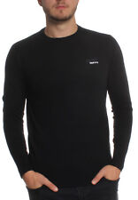 Superdry Pullover Men ORANGE LABEL CREW Black