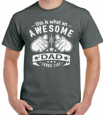 This Is What an Awesome Papá Looks Like Hombre Divertido Día del Padre Camiseta
