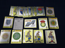 Panini EM EK EC 1992 Euro 92,pick 1 badge sticker/1 Wappen auswählen,ok/not good