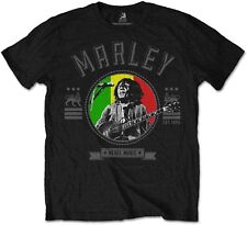 BOB MARLEY Rebel Music Seal T-SHIRT OFFICIAL MERCHANDISE