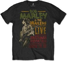 BOB MARLEY Rastaman Vibration Tour 1976 T-SHIRT OFFICIAL MERCHANDISE