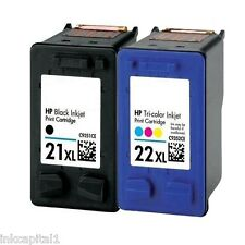 Negro 21xl & Color 22xl Cartuchos de tinta no-oem alternativa para HP Deskjet