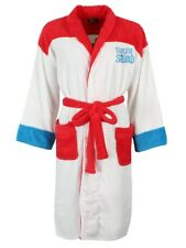 Suicide Squad Harley Quinn Women's White Hoodless Bathrobe