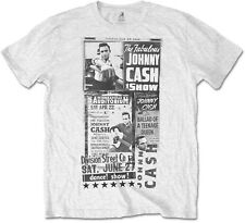 JOHNNY CASH The Fabulous Johnny Cash Show T-SHIRT OFFICIAL MERCHANDISE