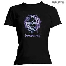 Official Black Ladies Skinny Evanescence Synthesis WANT Logo All Sizes