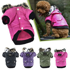 5 sizes Pet Small Dog Puppy Waterproof Coat Jacket Hoodie Thick Apparel Clothes