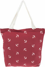 Große ANCHOR Sailor Anker Nautical Retro SHOPPER Tasche / Bag Rockabilly