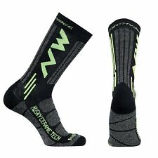Calze Invernali Northwave HUSKY CERAMIC TECH2 Black/Yellow Fluo/WINTER SOCKS NOR