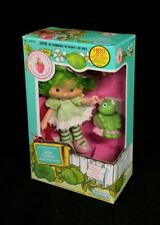 NIB 1980s Toy Kenner Lime Scented Strawberry Shortcake Lime Chiffon With Parrot