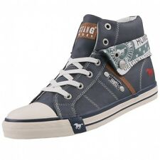 NEUF Mustang Chaussures pour femmes High-Top baskets bottines bottes à lacets