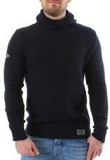 Superdry jersey capucha hombre Stealth Waffle azul marino