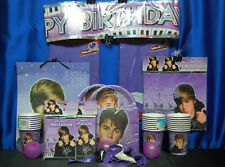 Justin Bieber Party Set # 16 Justin Bieber Party Supplies For 16
