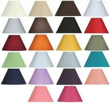 Oaks Lighting Cotton Coolie Lamp Shade 10 inch S501/10 Available in 25 Colours