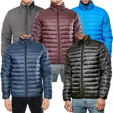 Mens Threadbare Jacket Coat Padded Bubble Puffer Quilted Winter Designer Nelson