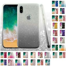 For Apple iPhone X Glitter Hybrid TPU Gradient Hard Cute Case Cover