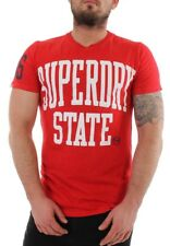 Superdry T-shirt Uomo Superdry STATO RIBELLE RIBELLE Red