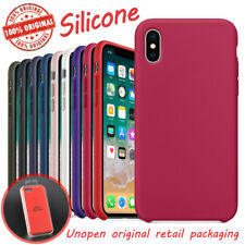 Luxury Original Ultra Thin Silicone Case Cover For Apple iPhone X XS Max 6 7 8