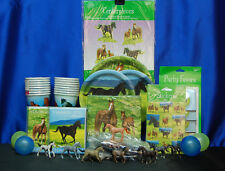 Wild Horses Party Set # 17 Wild Horses Party Supplies for 16 Tablecover Plates