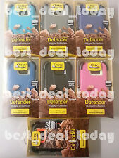 OEM Otterbox Rugged Defender Case W/Clip For Samsung Galaxy S6 S-6 Verizon AT&T