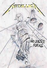 Fahne Metallica - And Justice For All (IMPORT) 77 x 105 cm