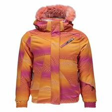 Spyder Bitsy Lola Jacket Kinder Skijacke orange pink