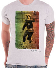 BOB MARLEY Football Text T-SHIRT OFFICIAL MERCHANDISE