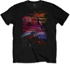 PINK FLOYD The Wall Flag And Hammers T-SHIRT OFFICIAL MERCHANDISE