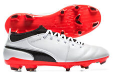 Puma Mens One 17.3 FG Football Boots Shoes Footwear Sports Training