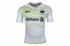 BLK Saracens 2017/18 Alternate S/S Replica Rugby Shirt Top Sports Training