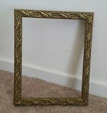 Ornate Contemporary Victorian Looking 7 x 9 Wood Picture Frame