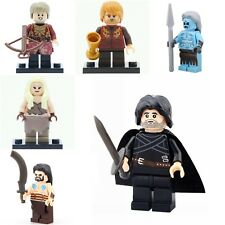 Game of Thrones Lego Compatible Minifigures Jon Snow Daenerys Targaryen Tyrion