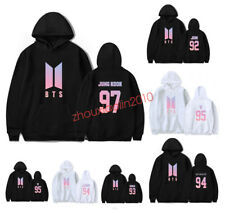 KPOP BTS Cap Hoodie Bangtan Boys Sweatershirt Love Yourself Pullover SUGA JIMIN