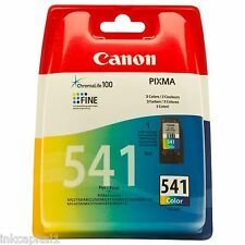1 x Canon CL-541 COLORE ORIGINALE OEM PIXMA CARTUCCIA A GETTO DI INCHIOSTRO