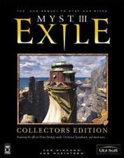 Myst III: Exile Collector's Edition, Good Windows, Mac Video Games