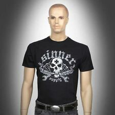 Original T- Shirt Sinner Supply Iron Cross Skull Größe S- 2XL
