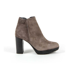 Versace 19.69 C18 CAMOSCIO TAUPE bottes pour femme Taupe FR