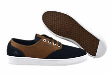 Emerica The Romero Laced navy brown white Sneaker Schuhe navy