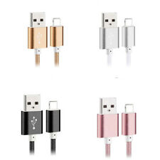 1m /2m /3m Strong Braided iPhone Lightning to USB Fast Charger Data Cable Lead