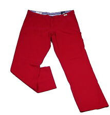 Tommy Hilfiger Jeans Hose Denton Chino Chilli Pepper rot Baumwolle