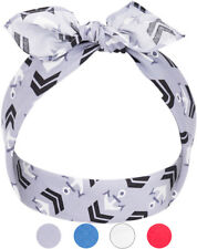 Küstenluder SWENJA Haarband Sailor ANCHOR Nickituch BANDANA Rockabilly