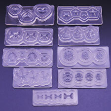 BA_ DURABLE 3D MOLD MOULD FOR NAIL ART DIY TIPS DECORATION ACCESSORIES ALLURING