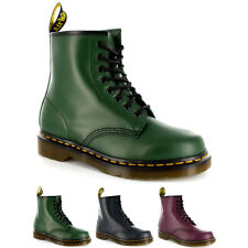 Womens Dr. Martens 1460Z 8 Eyelet Smooth Leather Lace Up Combat Army Boot UK 3-8