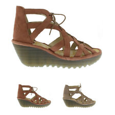 Womens Fly London Yeli Cupido Suede Cut Out Open Toe Holiday Sandal Shoes UK 3-9