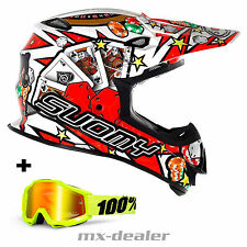 SUOMY Mr. Jump Jackpot Blanco CASCO CROSS mx motocross enduro 100% Gafas